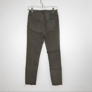 RSQ Jeans - rsq olive green cali high rise jeans
